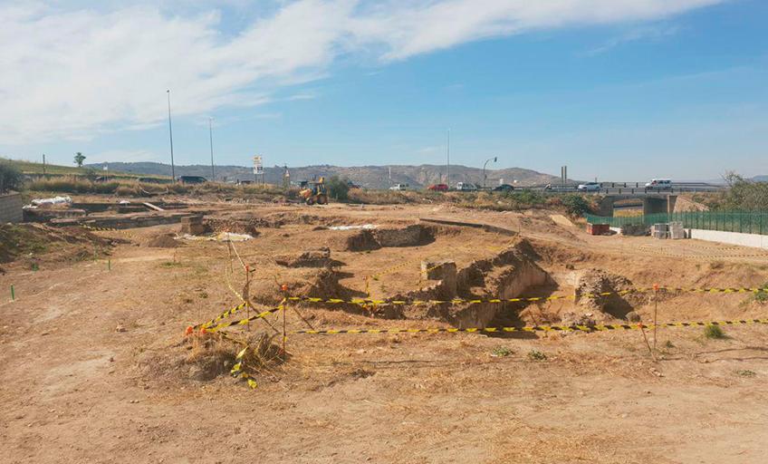 Diaz Cubero, puesta en valor de la Villa Romana de la Estación