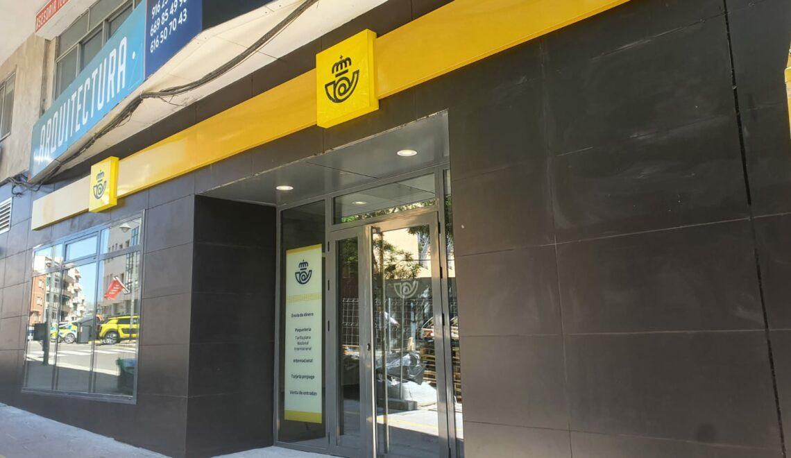 Oficina de Correos en Alcobendas